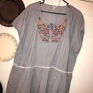 Sonoma Peplum blouse